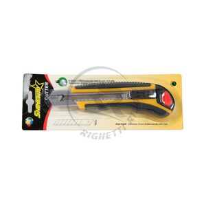 Cutter Professionale 18mm con 6 Lame