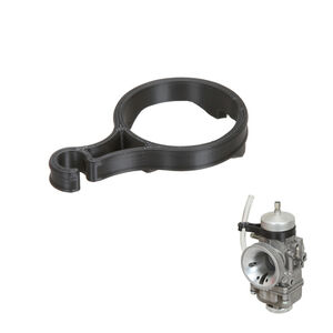 Fuel Line Support for 30mm Dell'Orto Carburetor,black colour